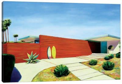 House By The Ocean Canvas Art Print