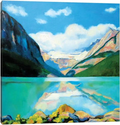 Lake Louise Canvas Art Print