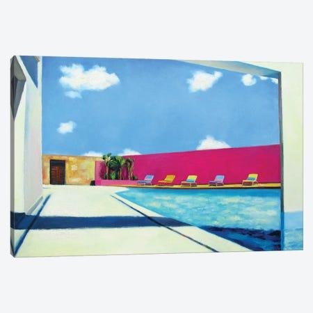 Late Summer Sky Canvas Print #IBA31} by Ieva Baklane Canvas Art Print