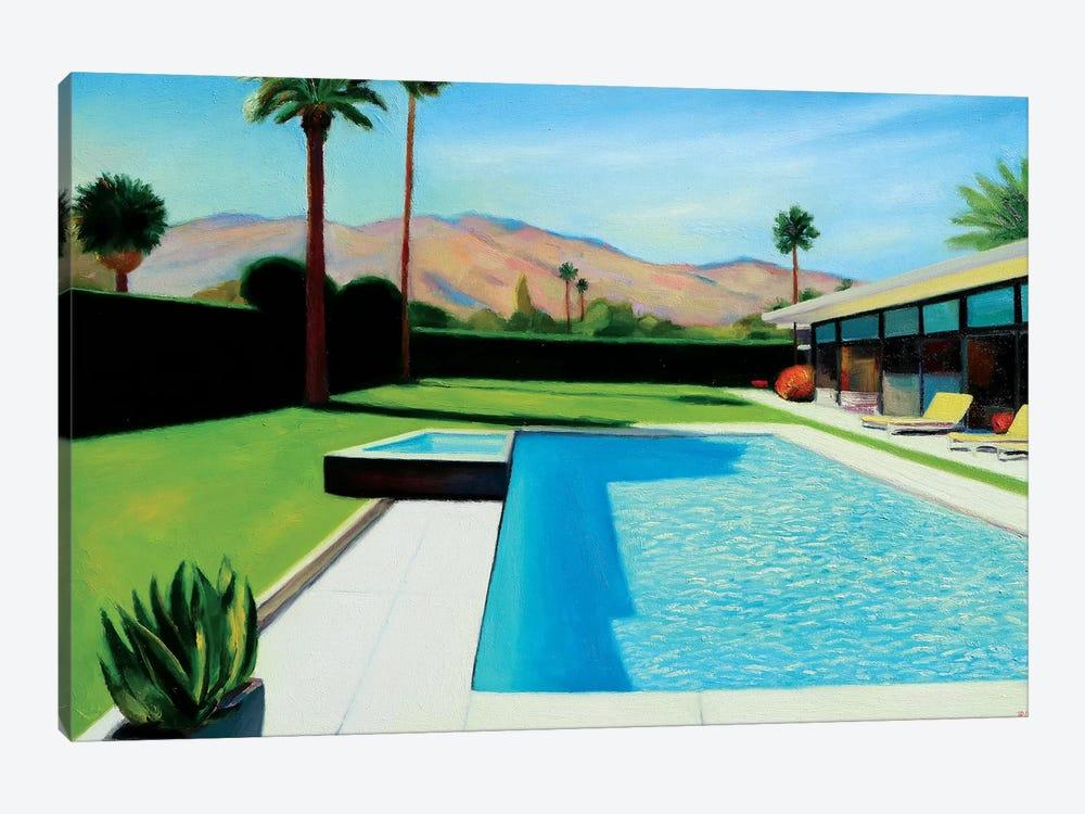 Palm Springs Monday by Ieva Baklane 1-piece Canvas Print