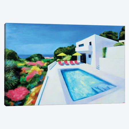 Afternoon Sun Canvas Print #IBA3} by Ieva Baklane Canvas Wall Art