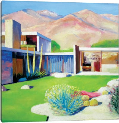 Palm Springs Sunday Canvas Art Print