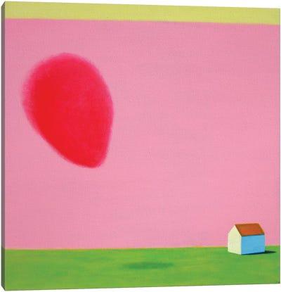 Spring And Heart Again Canvas Art Print