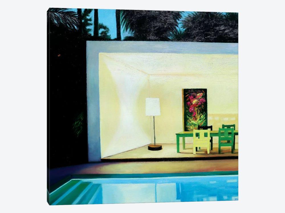 Summer Evening by Ieva Baklane 1-piece Canvas Artwork