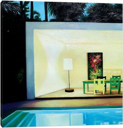 Summer Evening Canvas Art Print