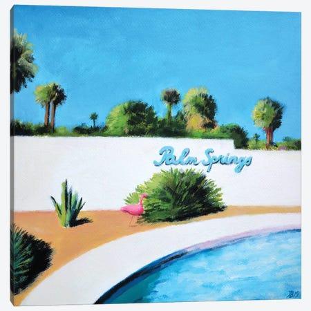 Palm Spings Canvas Print #IBA71} by Ieva Baklane Canvas Print