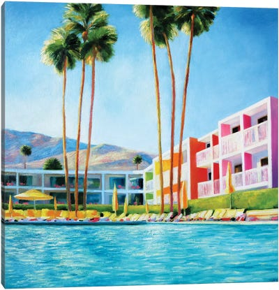Saguaro Canvas Art Print