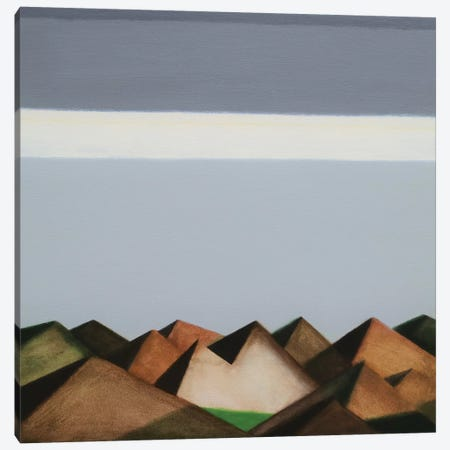 Over The Hills And Far Away Canvas Print #IBA73} by Ieva Baklane Canvas Print