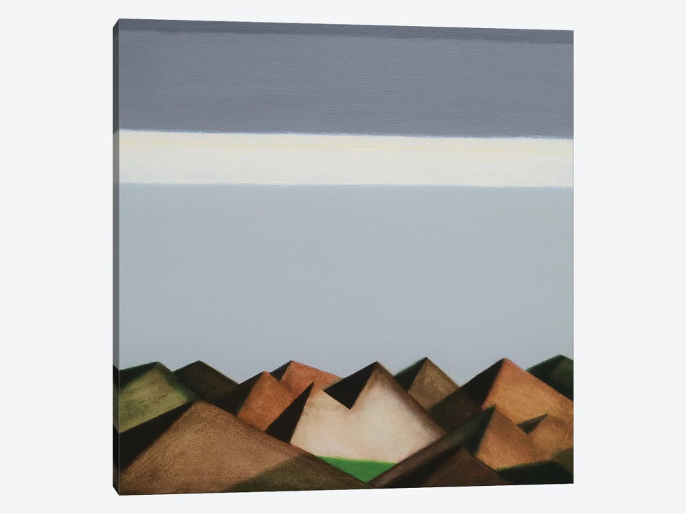 Over The Hills And Far Away by Ieva Baklane 1-piece Canvas Art