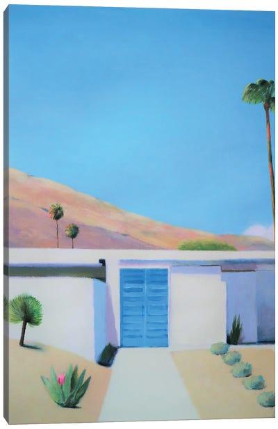 Blue Door, Acrylic/Canvas 2021. Canvas Art Print