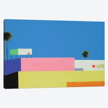 Cali Love Canvas Print #IBA8} by Ieva Baklane Canvas Wall Art