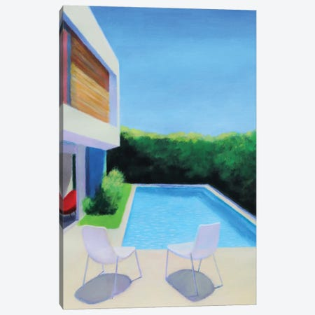 Summer Light Canvas Print #IBA91} by Ieva Baklane Canvas Print