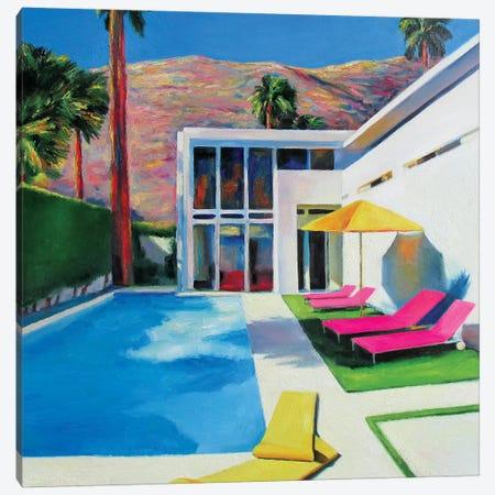 California Sun Canvas Print #IBA9} by Ieva Baklane Canvas Artwork