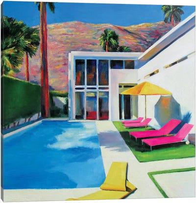 California Sun Canvas Art Print