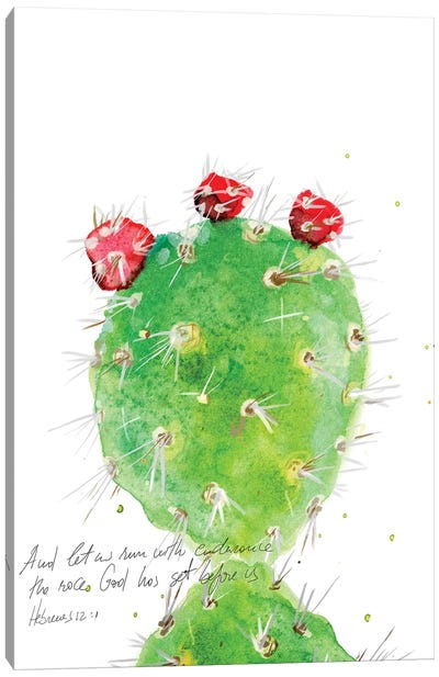 Cactus Verse IV Canvas Art Print