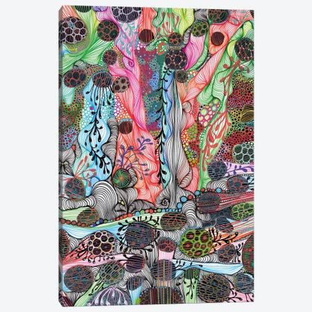 Fluid Canvas Print #IBZ13} by Noemi Ibarz Canvas Art