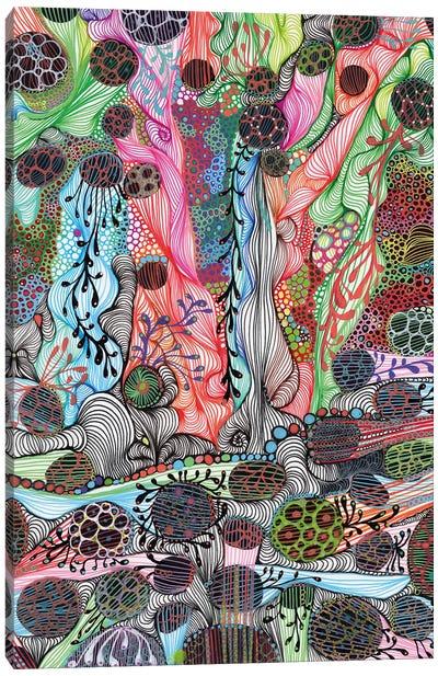 Fluid Canvas Art Print