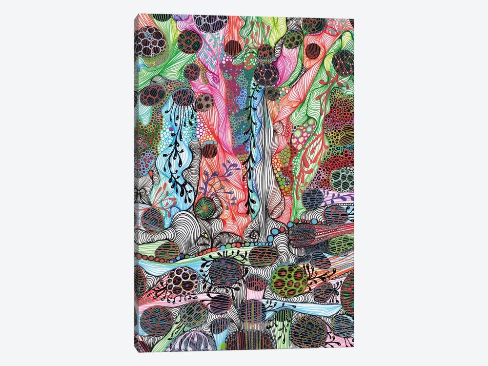 Fluid by Noemi Ibarz 1-piece Canvas Art