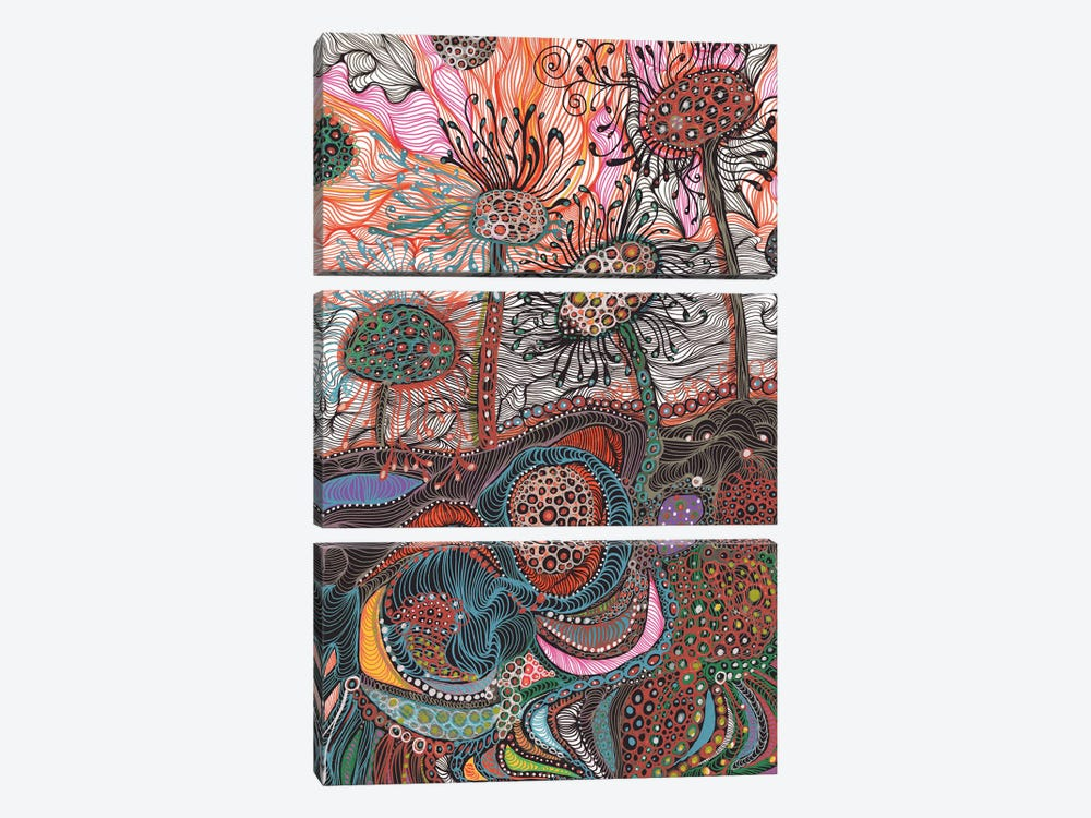 Earth by Noemi Ibarz 3-piece Art Print