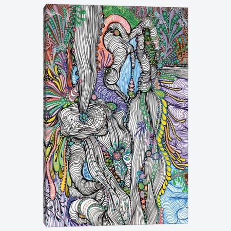 Fluid  Canvas Print #IBZ17} by Noemi Ibarz Canvas Art Print