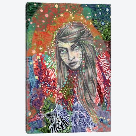 Girl II Canvas Print #IBZ18} by Noemi Ibarz Canvas Art