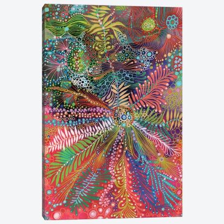 Petals III Canvas Print #IBZ22} by Noemi Ibarz Canvas Art Print