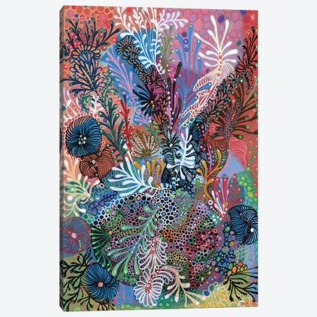 Seabed VI Canvas Print #IBZ23} by Noemi Ibarz Canvas Print