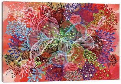 Flower Canvas Art Print