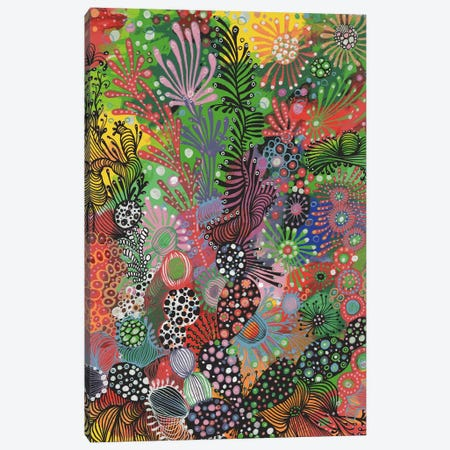 Forest Canvas Print #IBZ3} by Noemi Ibarz Canvas Wall Art