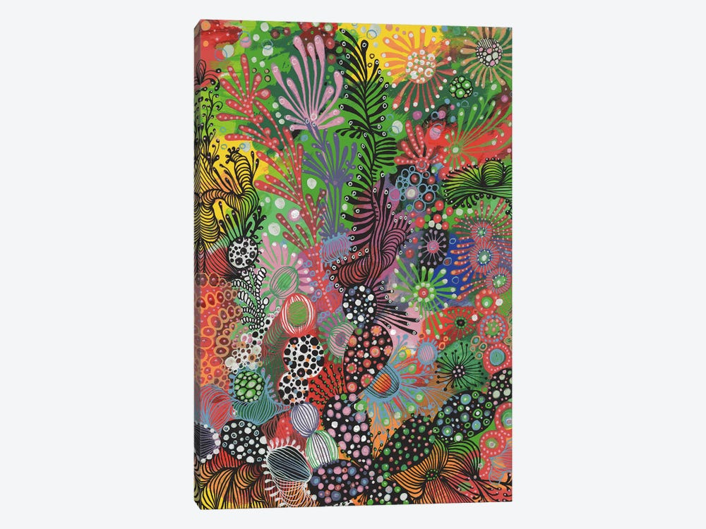Forest by Noemi Ibarz 1-piece Canvas Wall Art