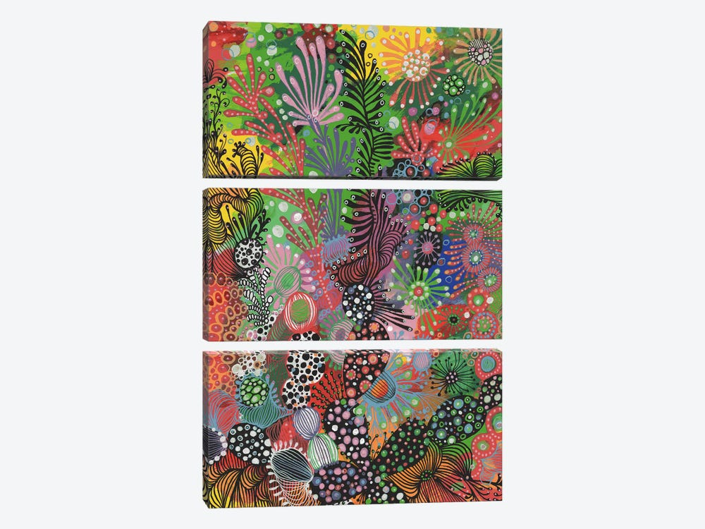 Forest by Noemi Ibarz 3-piece Canvas Art