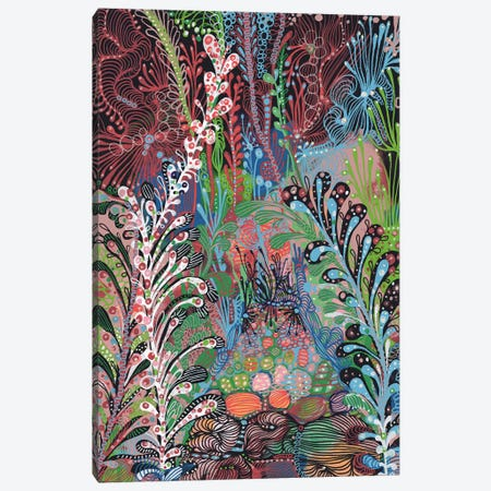 Garden Canvas Print #IBZ4} by Noemi Ibarz Art Print