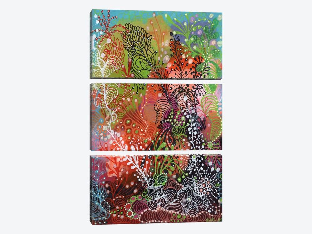 Life by Noemi Ibarz 3-piece Canvas Wall Art