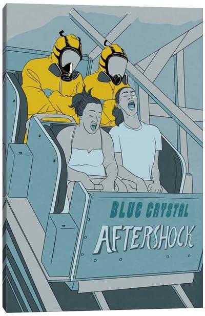 Aftershock Roller Coaster Canvas Art Print