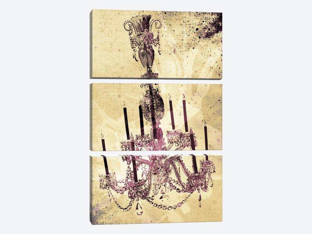 Dark Chandelier by Unknown Artist 3-piece Canvas Art