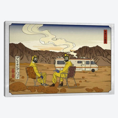 Road Trippin' 2 3-Piece Canvas #ICA1020} by 5by5collective Canvas Art Print