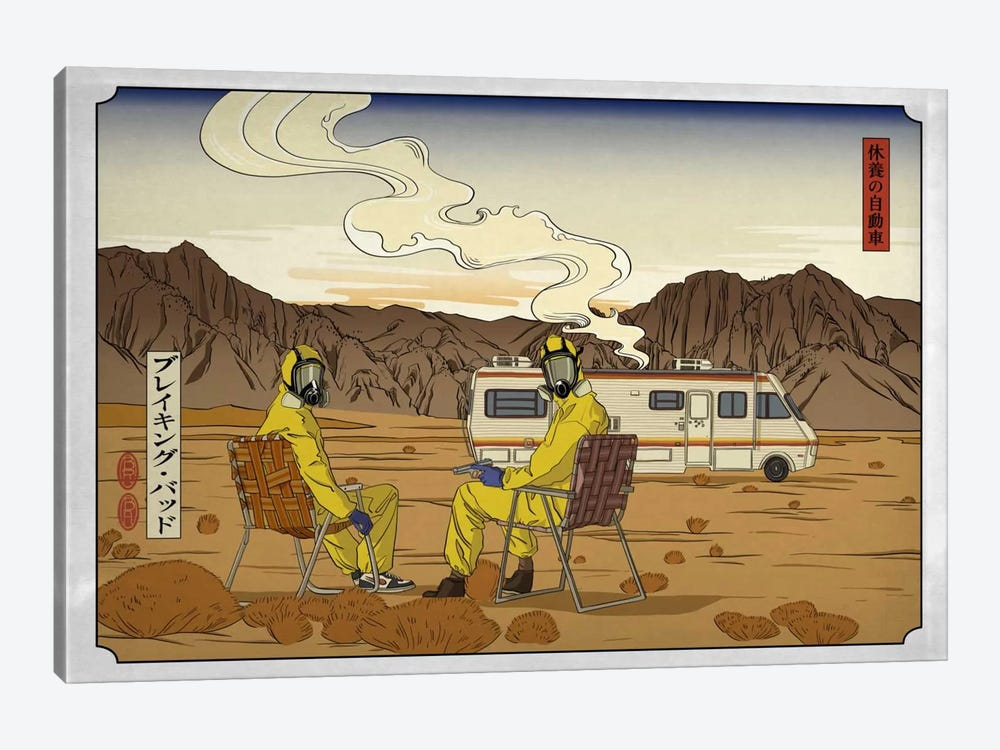Road Trippin' 2 by 5by5collective 1-piece Canvas Art Print