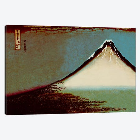 Mount Fuji in a Haze Canvas Print #ICA1029} by 5by5collective Canvas Art Print