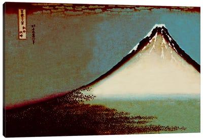 Mount Fuji in a Haze Canvas Art Print
