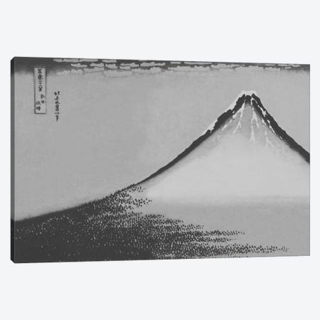 Sketch of Mount Fuji Canvas Print #ICA1030} by 5by5collective Canvas Artwork