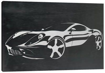 Cruising Brushed Aluminum Canvas Art Print