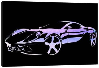 Cruising Purple Canvas Art Print