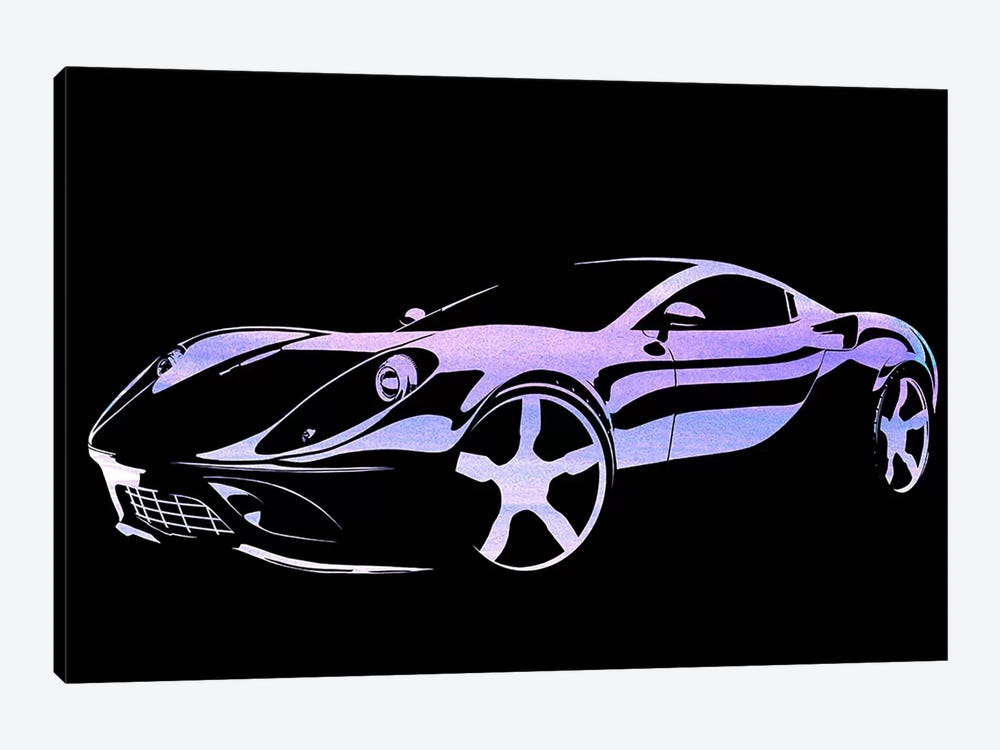 Cruising Purple by 5by5collective 1-piece Canvas Artwork