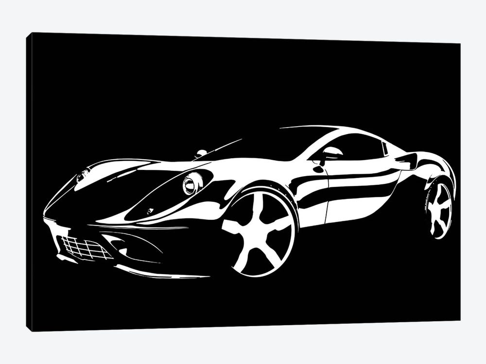Cruising White by 5by5collective 1-piece Art Print