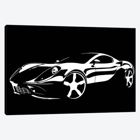 Cruising White Canvas Print #ICA1039} by 5by5collective Canvas Artwork
