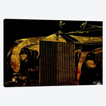 Englands Finest Gold Canvas Print #ICA1046} by 5by5collective Canvas Art