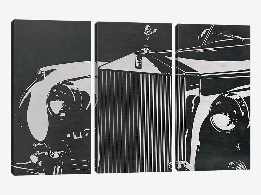 Englands Finest by 5by5collective 3-piece Canvas Art Print