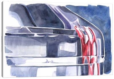 Blood & Ice Canvas Art Print