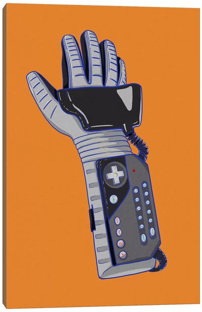 Glove of Power Canvas Art Print