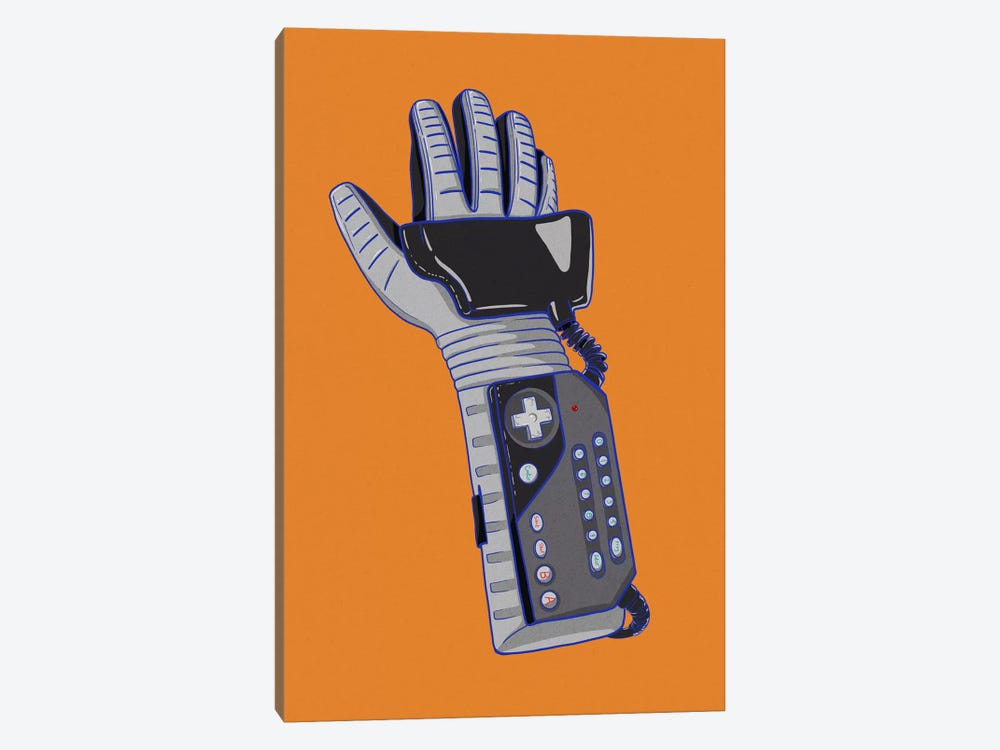 Glove of Power by 5by5collective 1-piece Canvas Artwork